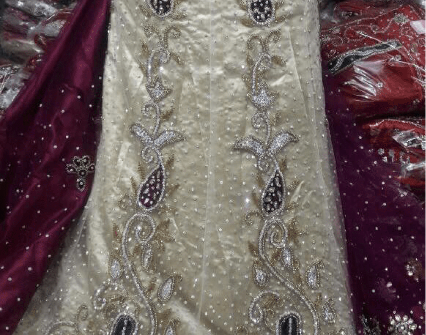 Bridal Lengha saree